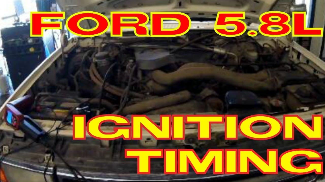 Ford 5.8L / 5.0L Windsor Ignition Timing