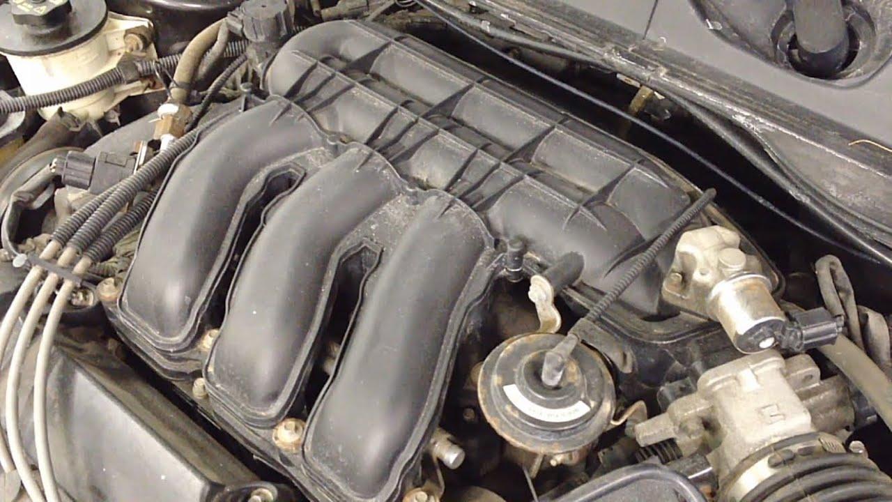 Ford Taurus 3.0L 24V Dohc Intake Manifold Removal