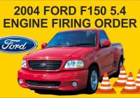 2004 Ford F150 5.4 Engine Firing Order – Youtube