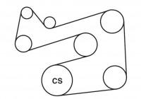 2005 Ford Escape Serpentine Belt Diagrams — Ricks Free Auto
