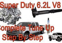 2011-2016 Ford F250 6.2 V8 Spark Plugs And Coil Packs Replacement – Super  Duty