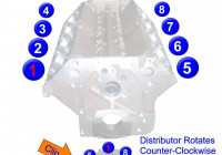 Big Block Ford Fe 390 427 428 Firing Order | Ford Trucks