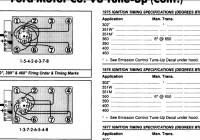 Diagram Firing Order 460 Ford Motor Full Hd Version Ford