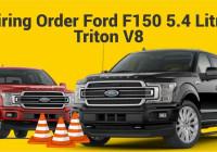Firing Order Ford F150 5.4 Litre Triton V8 – Youtube