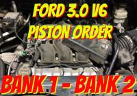 Ford 3.0 Piston Order – Ford Escape
