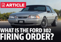 Ford 302 Motor | Firing Order – Lmr