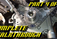 Ford 5.4L 3V Engine Timing Chain Kit Replacement Pt 4 Of 4