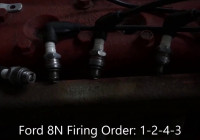 Ford 8N Firing Order Video – Youtube