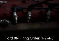 Ford 8N Firing Order Video – Youtube