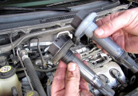 Ford Flex 3.5L Engine Ignition Coil And Spark Plug Replacement And Tune Up