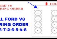 Ford V8 Firing Order 1-3-7-2-6-5-4-8 – Youtube