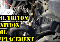 How To Change Ignition Coils On 5.4L Triton Ford Engine