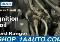 How To Replace Ignition Coil Pack 90-11 Ford Ranger