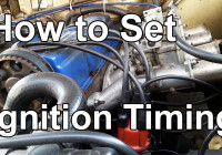 How To Set Ignition Timing With A Timing Light / Ignition Timing Explained  | Tech Tip 04
