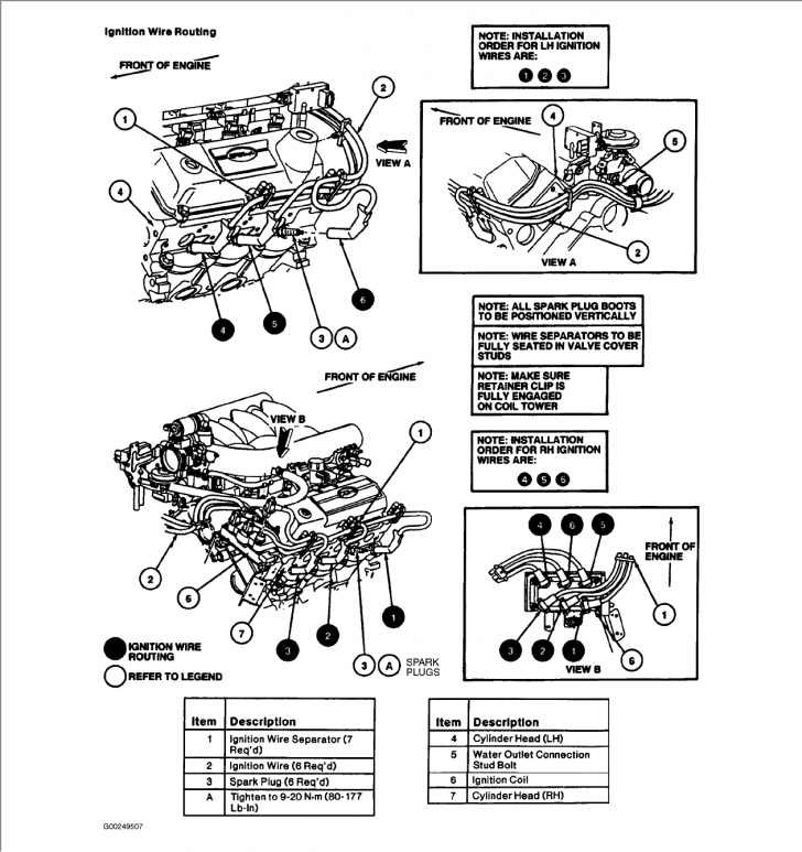 Permalink to 1996 Ford Windstar Firing Order