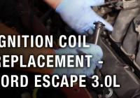 Ignition Coil Replacement – Ford Escape 3.0L