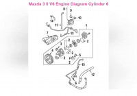 Mazda 3 0 V6 Engine Diagram Cylinder 6 – Wiring Diagrams De